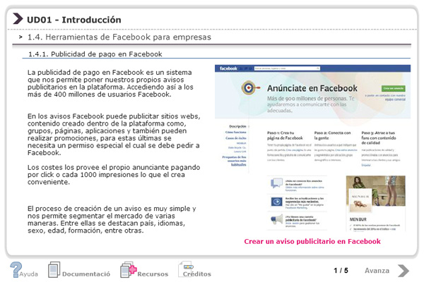 Curso Online Facebook en la empresa (2012)